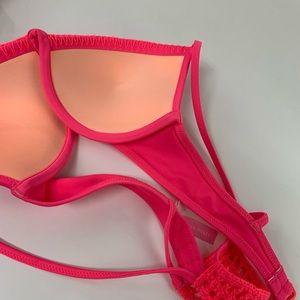 Victoria's Secret Swim - Victorias Secret Bikini Top 32B Fabulous Padded